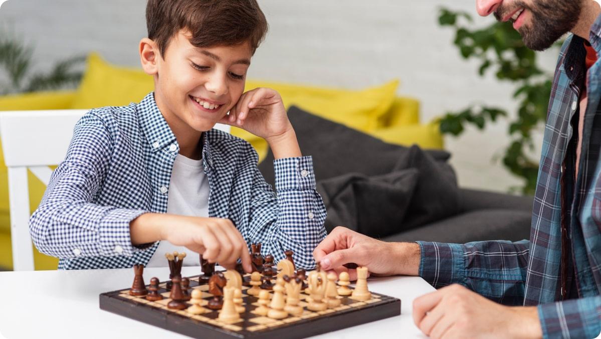 Szkoła szachowa zdjęcie