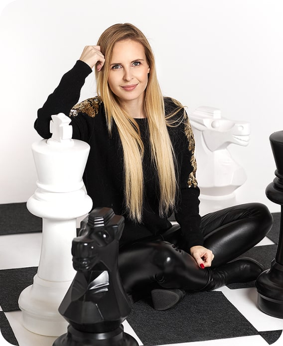 Adrianna Staniszewska - Lekcje szachowe