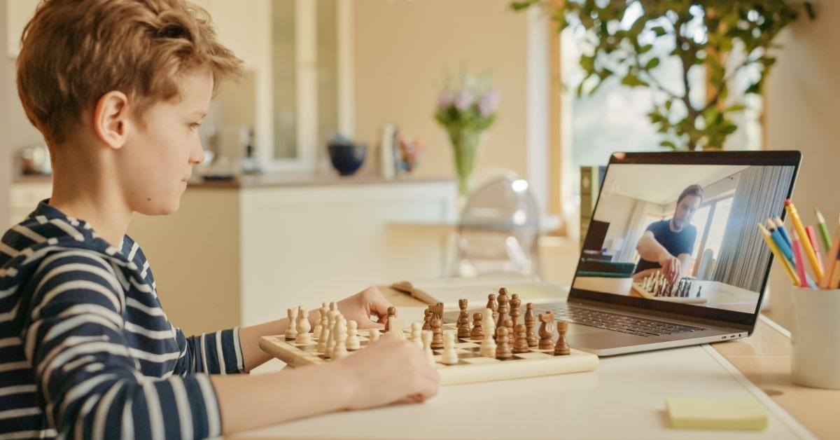 Szachy zajęcia online dla dzieci